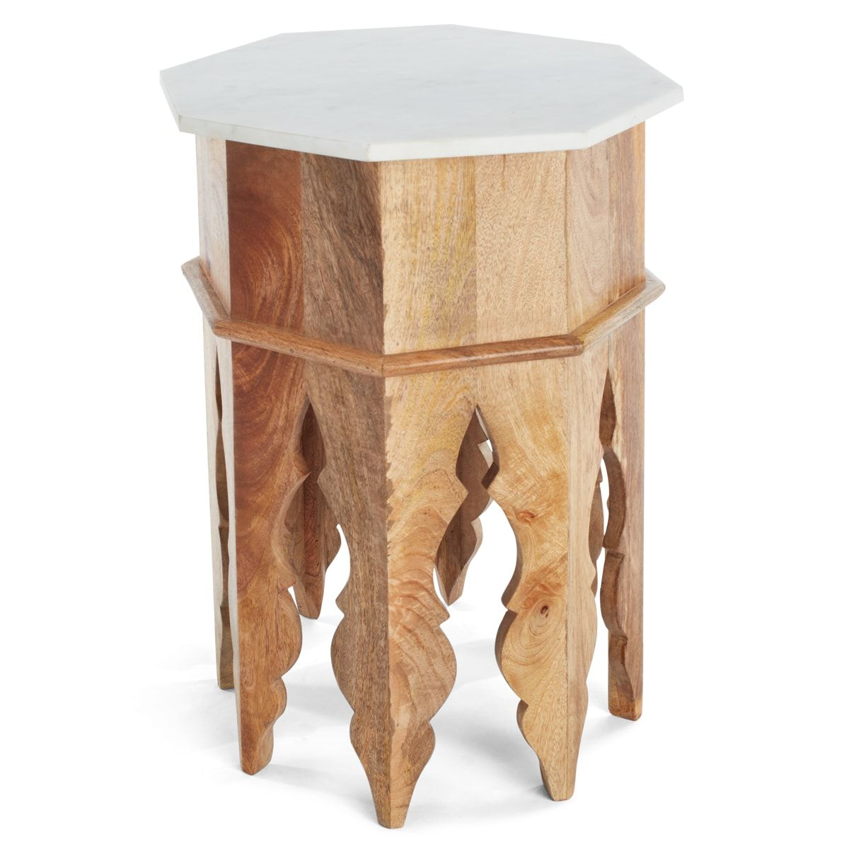 Marble And Wood Moroccan Side Table Side Table Wood Moroccan Side Table Side Table