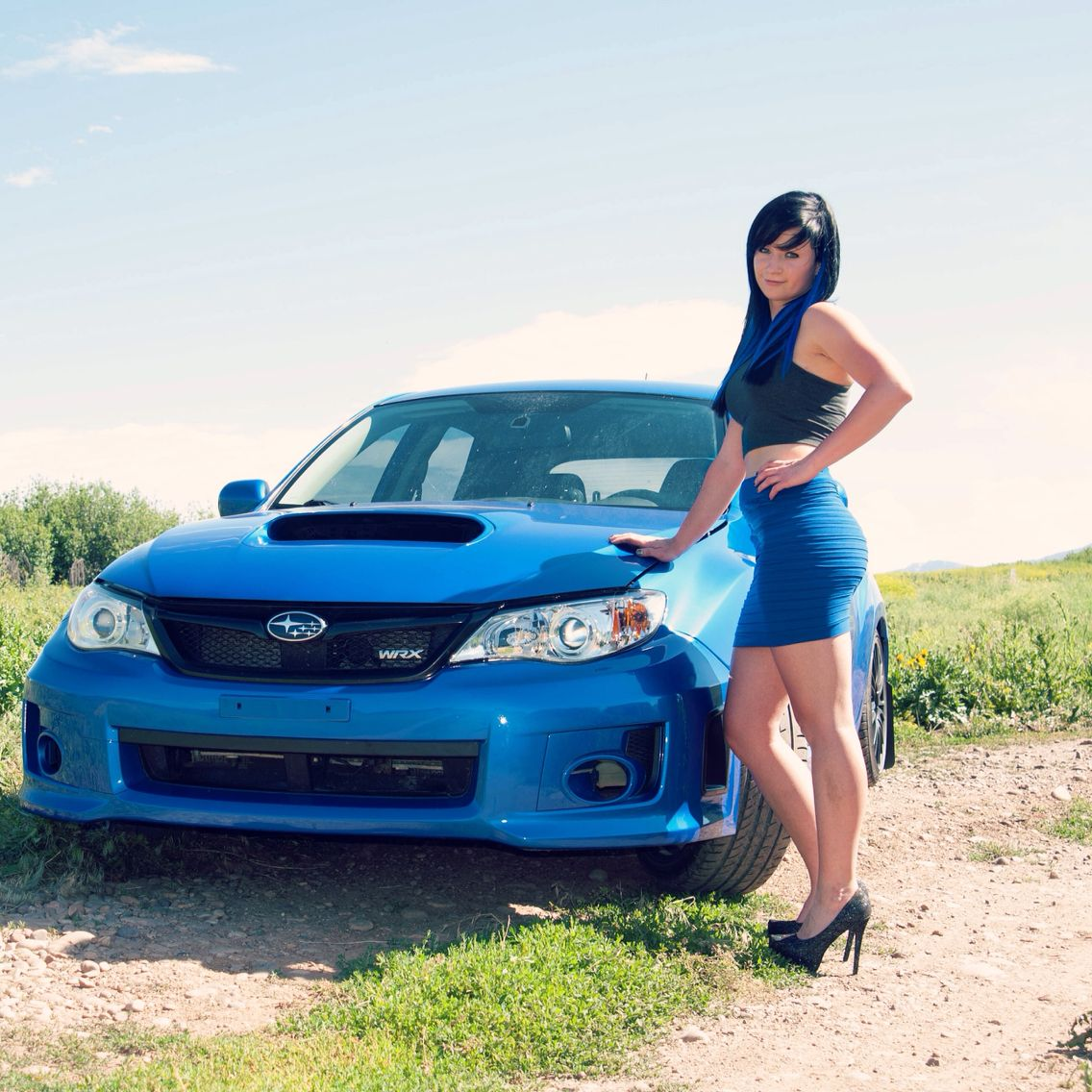 Subaru Wrx Girls And Cars Hottie Tristinworden Photography