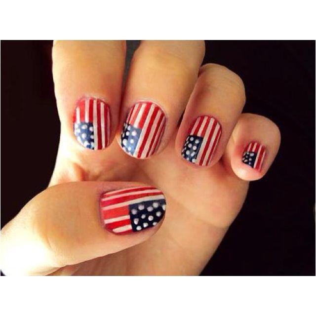 Memorial day nails!! | Nails | Pinterest