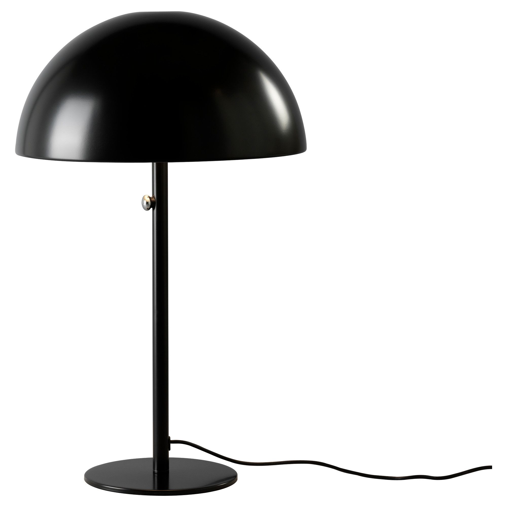 Ikea 365 Brasa Table Lamp Black