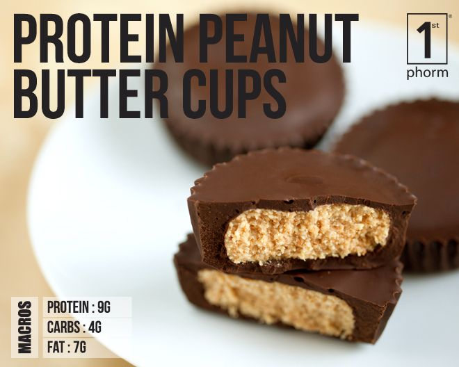 1st Phorm Peanut Butter Protein Cups Recipe 1st Phorm Homemade Peanut Butter Cups Peanut Butter Cups Candy Recipes