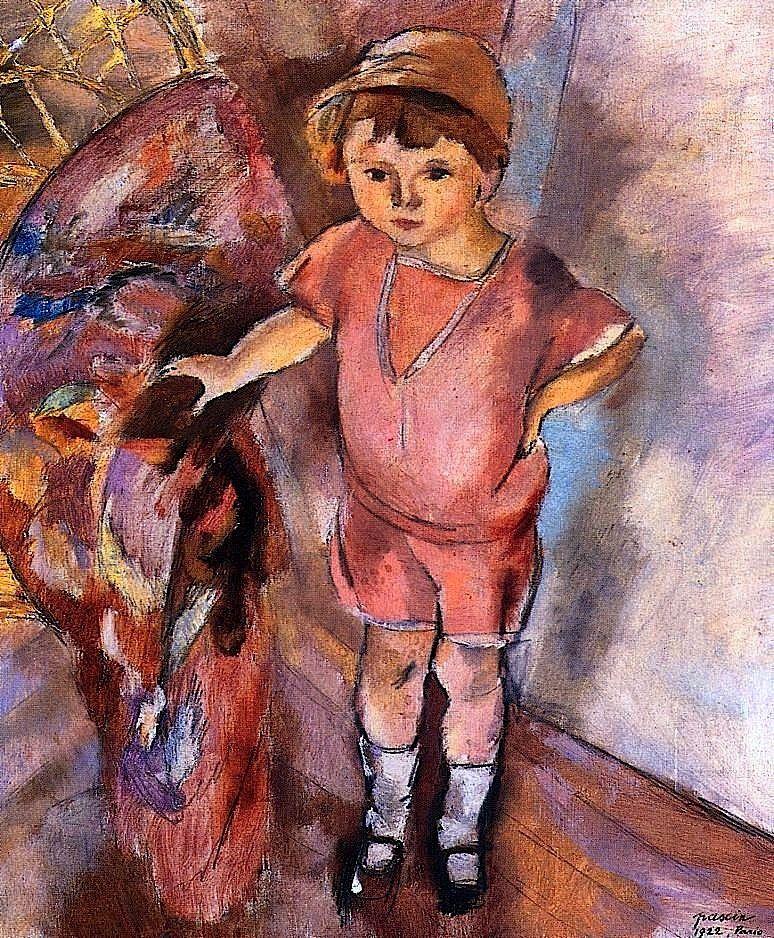 Young Boy Jules Pascin - 1922