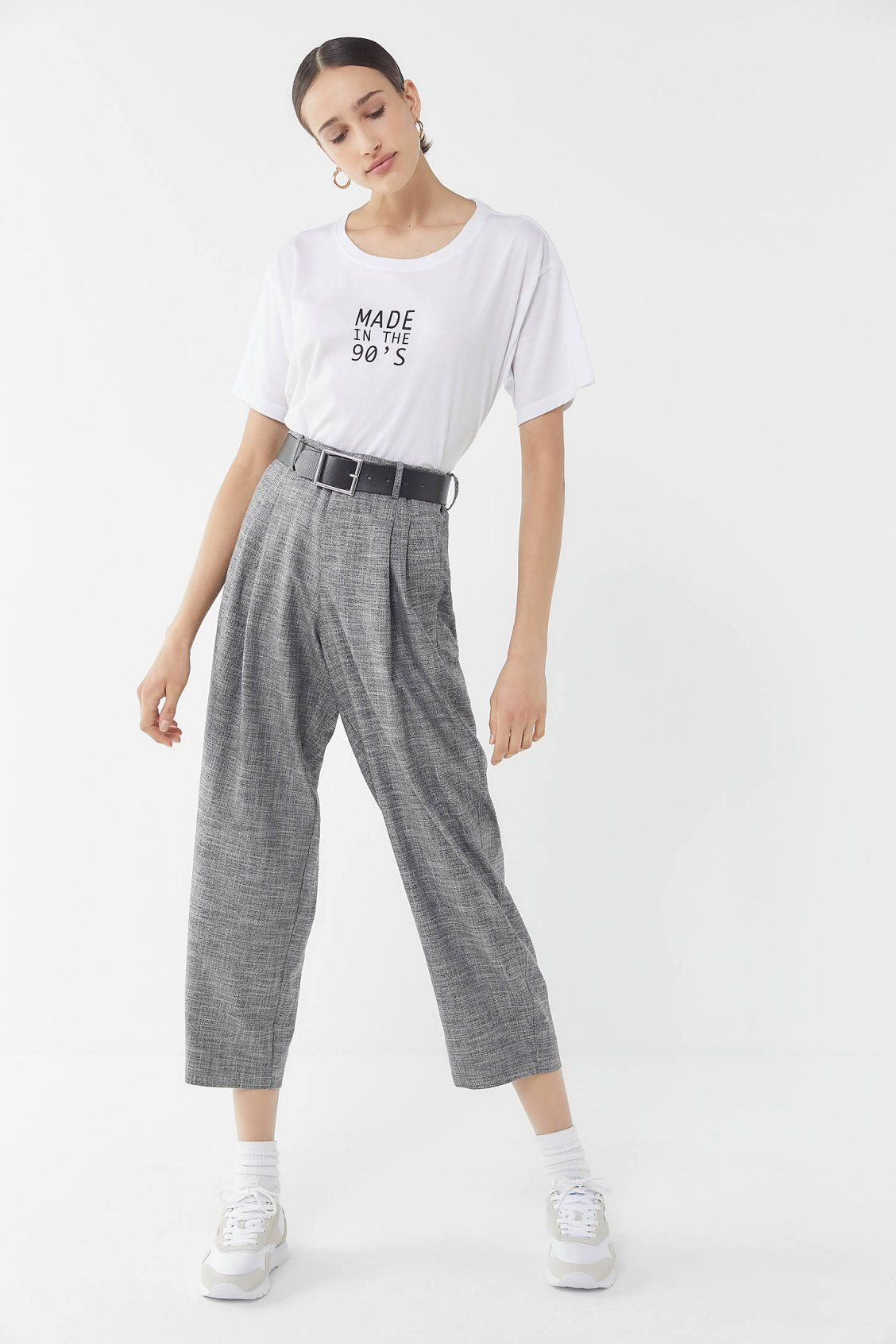803ba5723de UO Arlo Pleated Pant