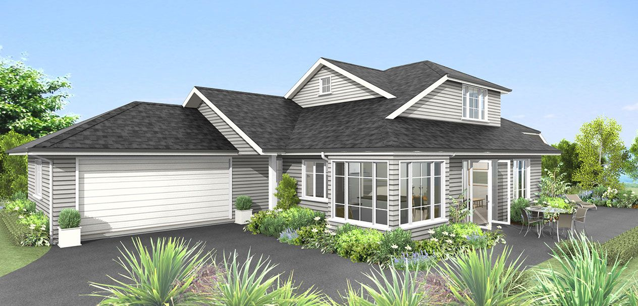 Aotea (With images) | Two storey house plans, Two storey ...