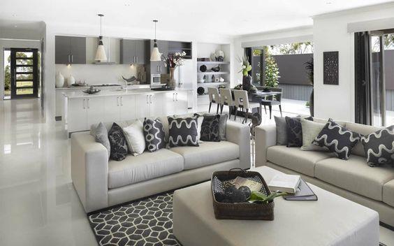 Decoracion de comedor y sala juntos en espacio pequeño - decoracion de espacios pequeos