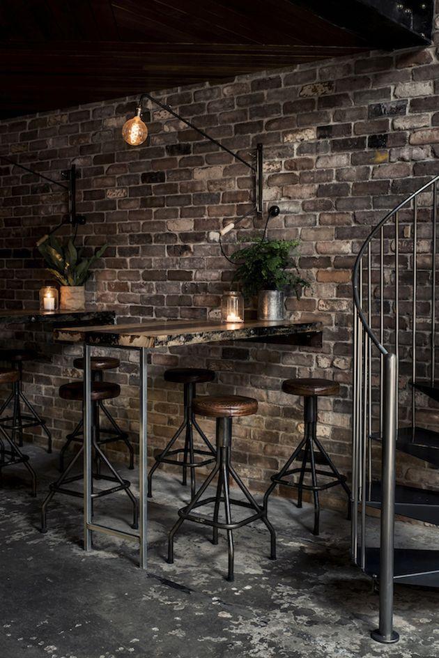 New York Loft Bar In Sydney Decoracion De Bares Diseño De