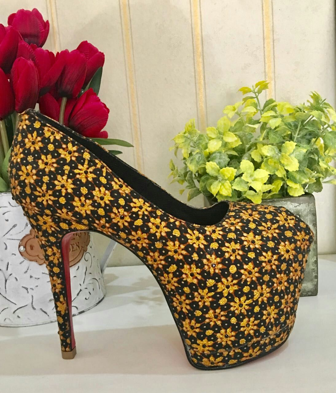 Batik Shoes By ALITA DESIGN From Jakarta Indonesia