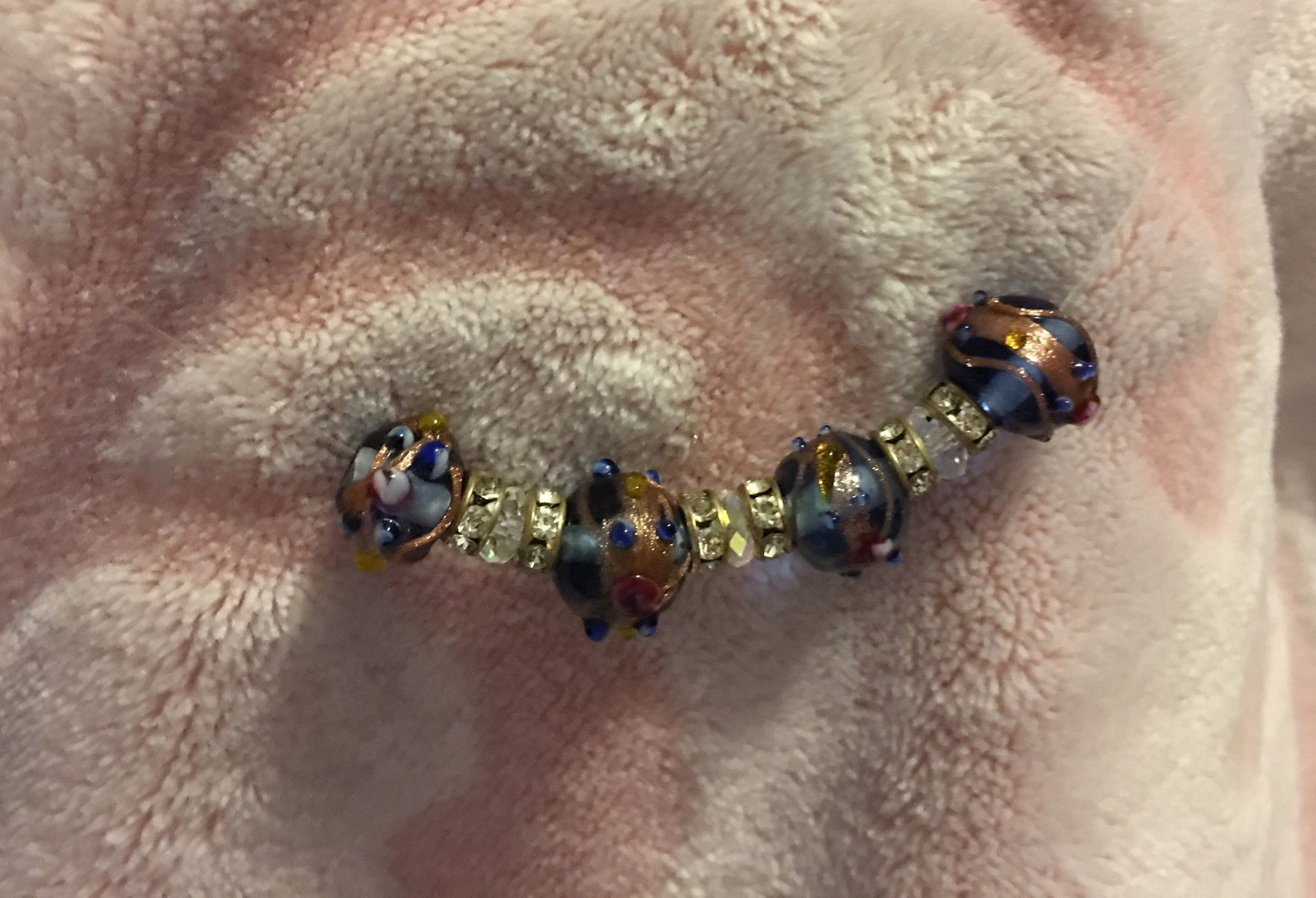 floating bead chokers pinterest products