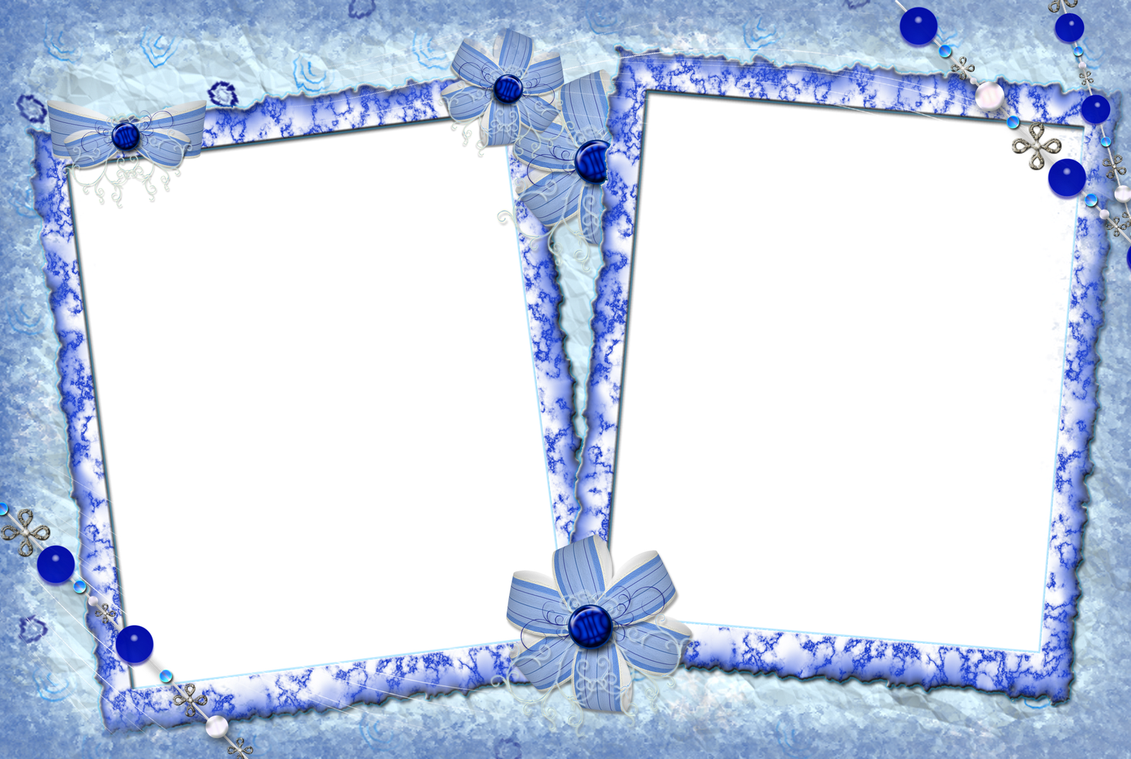 Зимняя рамка для фотографии