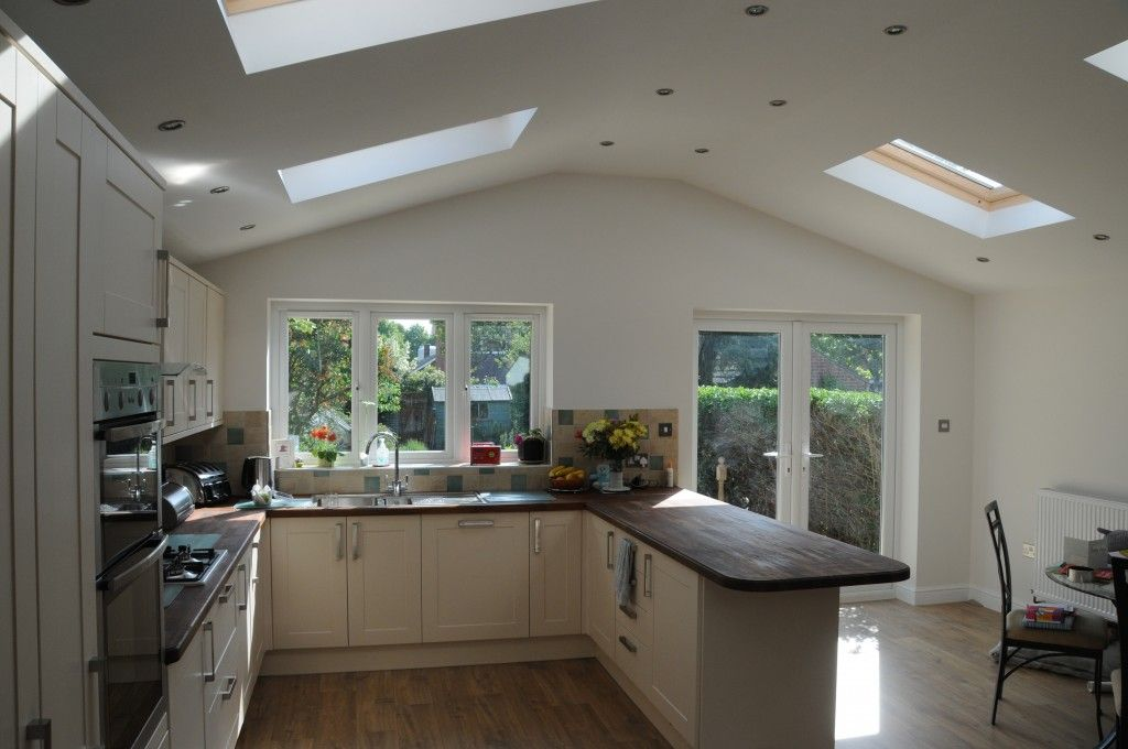New fitted kitchen in the new extension kitchen diner for Kitchen ideas extension