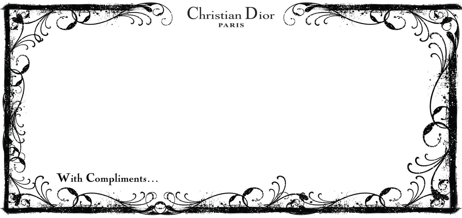 dior business card - Google Search | Businesses and startups ...