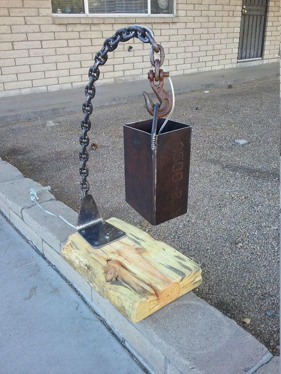 Rustic Industrial Table Lamp  Industrial, Rústico y Mesa industrial