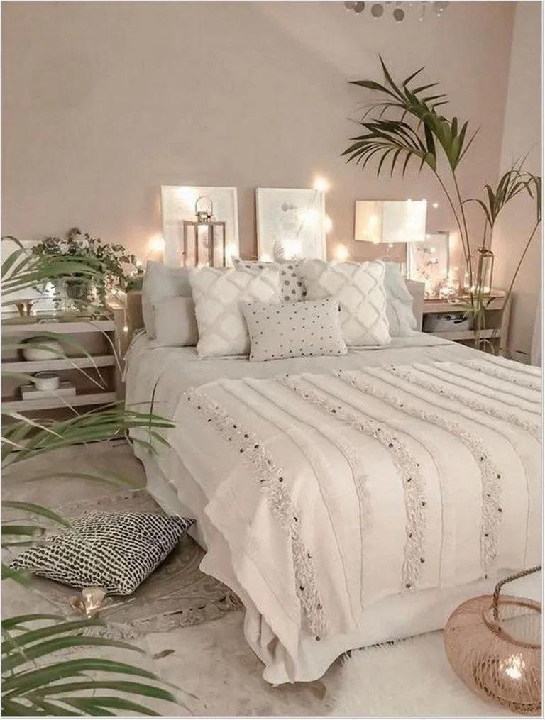 Photo of 23+ Koselige bohemske soveromsideer til din første leilighet