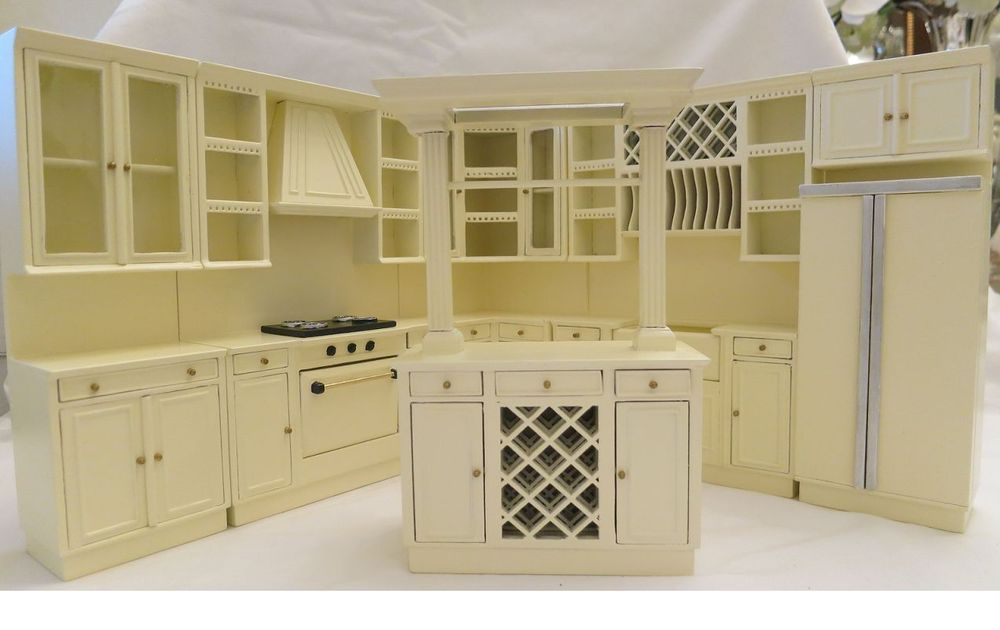 Last One For This Low Price Miniature Dollhouse Bespaq Kitchen