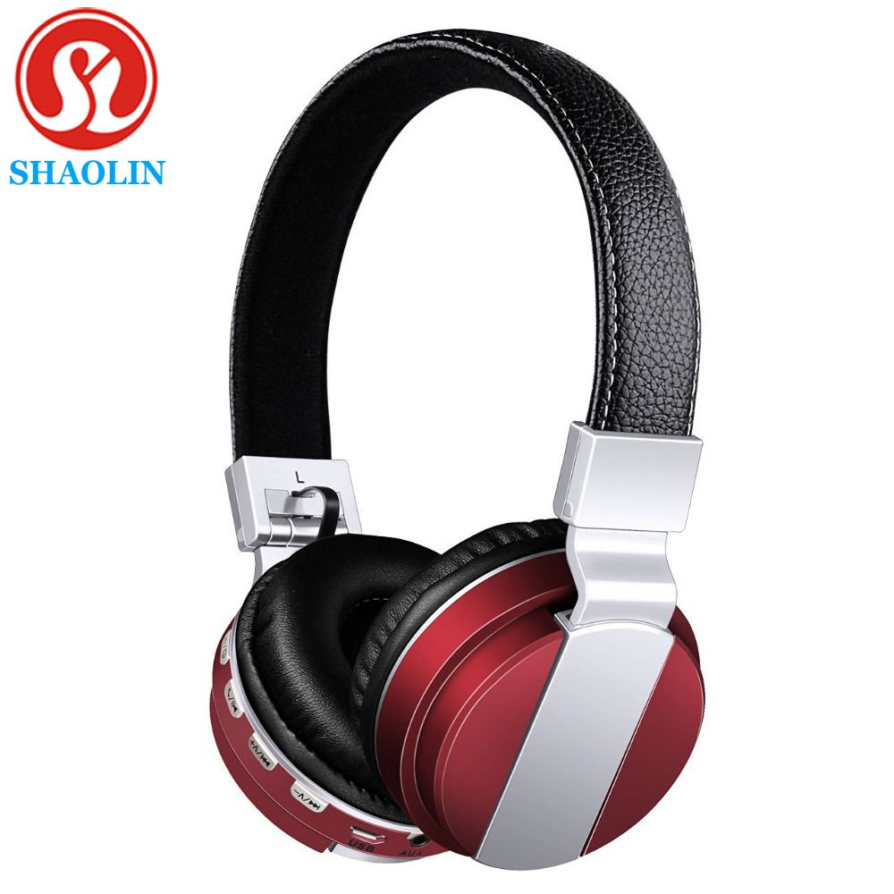 Shaolin Earphone Headphone Folding Test Bluetooth Headphones Edr Wireless Bluetooth Headset And Microphone For Iphone Computer Accessories Parts Pinte