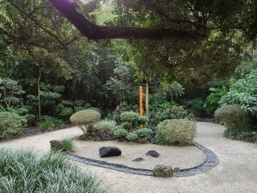 Japanese Gardens Dedicated To The Japanese Farmer That Refused To Throw In  The Trowel