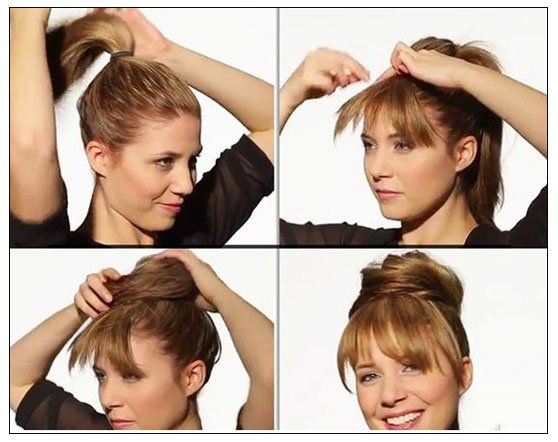 Fake Bangs Hairstyle Interesting Fake Your Bangs Hairstyle  Hair Ideas  Pinterest  Bang Hairstyles