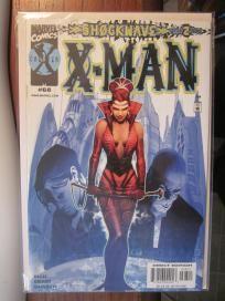 X-MAN #68 Comics Marvel Free Bag and Board Free Shipping