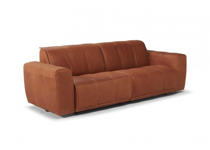 Natuzzi Editions B941 Leather Sofa : Leather Furniture Expo