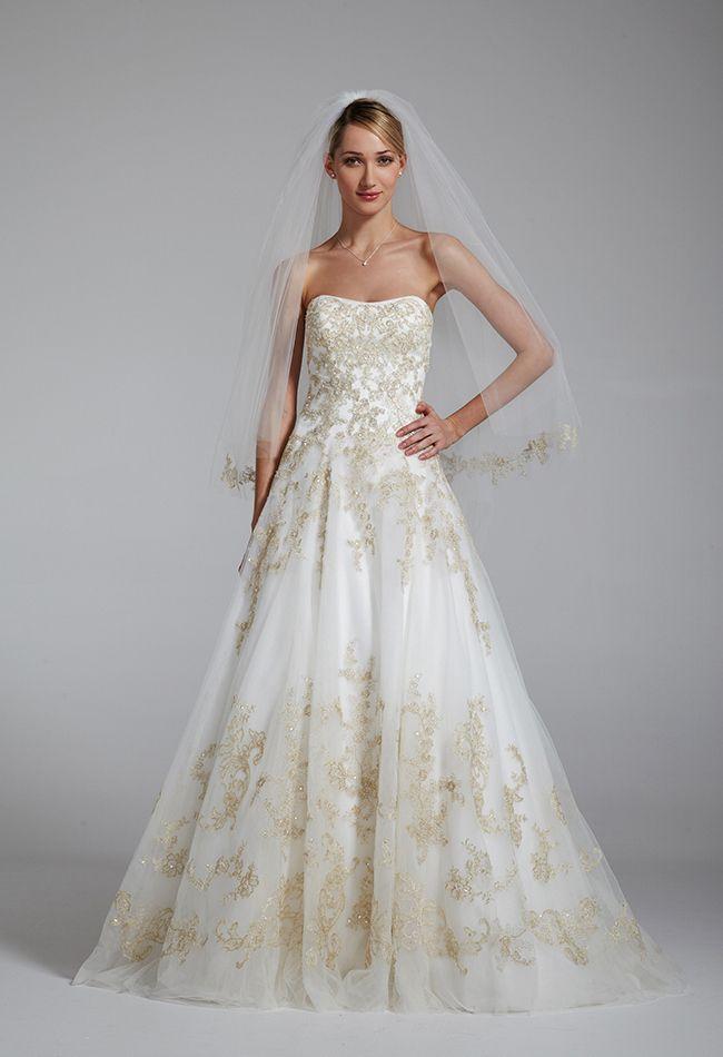 Ideas advice wedding dress weddings and jessica simpson wedding wedding dress by oleg cassini for davids bridal junglespirit Images