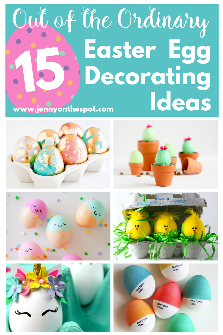 15 Out Of The Ordinary Easter Egg Decorating Ideas Easter Egg Decorating Egg Decorating Easter Eggs