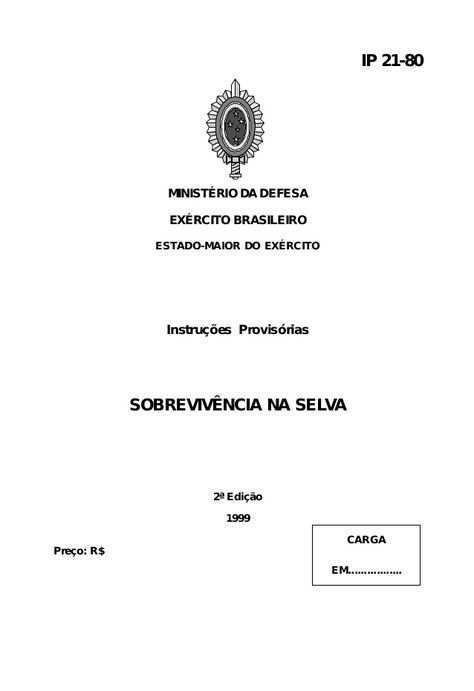 MANUAL DE SOBREVIVENCIA NA SELVA EPUB