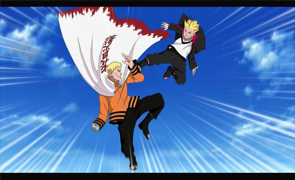 Naruto Vs Boruto Wallpaper Di 2020