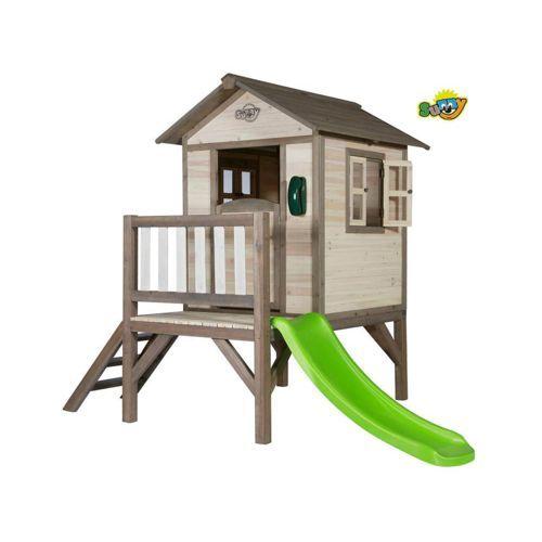 Habitat Et Jardin Cabane En Bois Enfant Lodge Xl 240 X 167 X 190cm