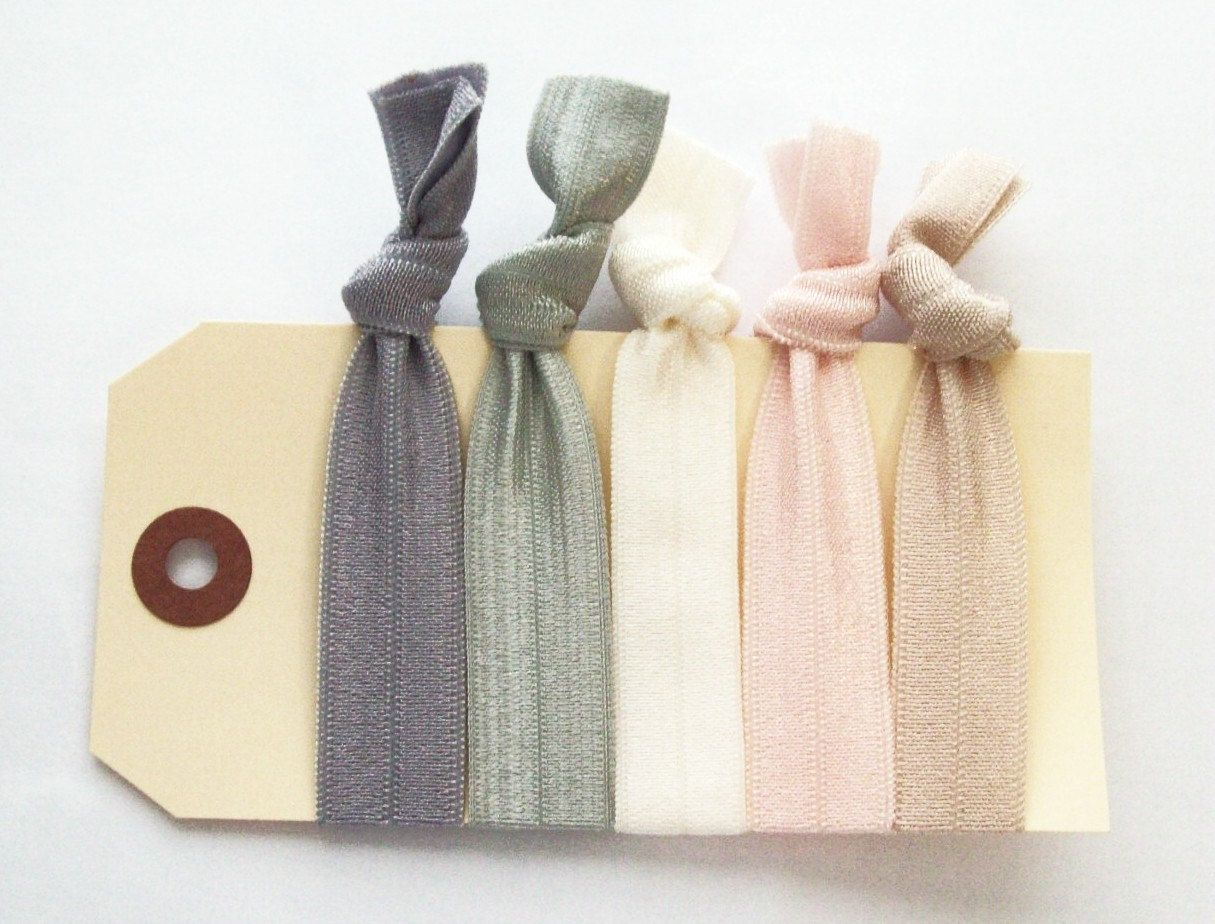 These Hair Ties In Theme Colors As Requested