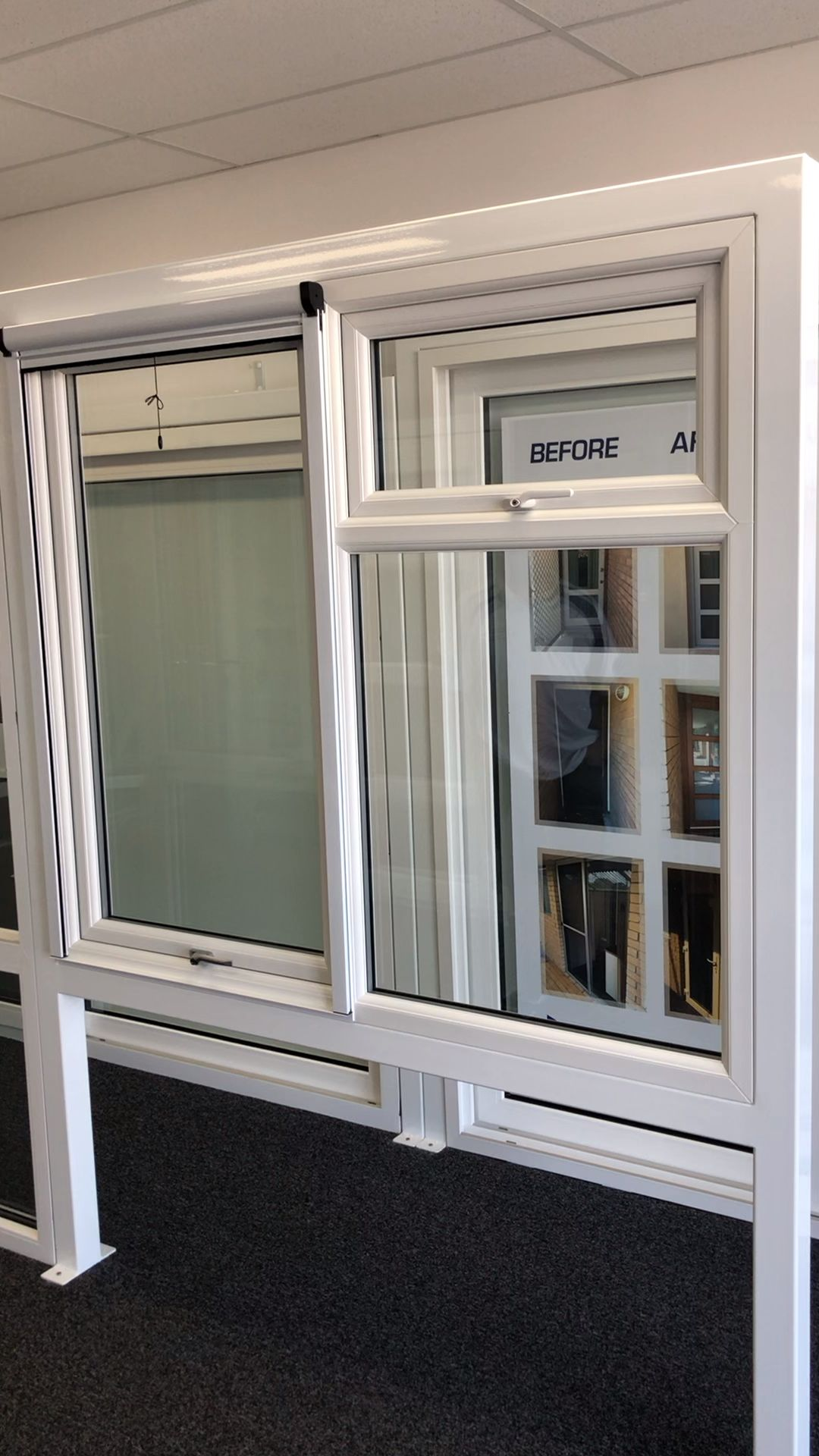 Upvc Double Glazed Awning Windows By Affordable Double Glazing Video Ventanas De Aluminio Modernas Diseno Ventanas Ventanas Para Bano