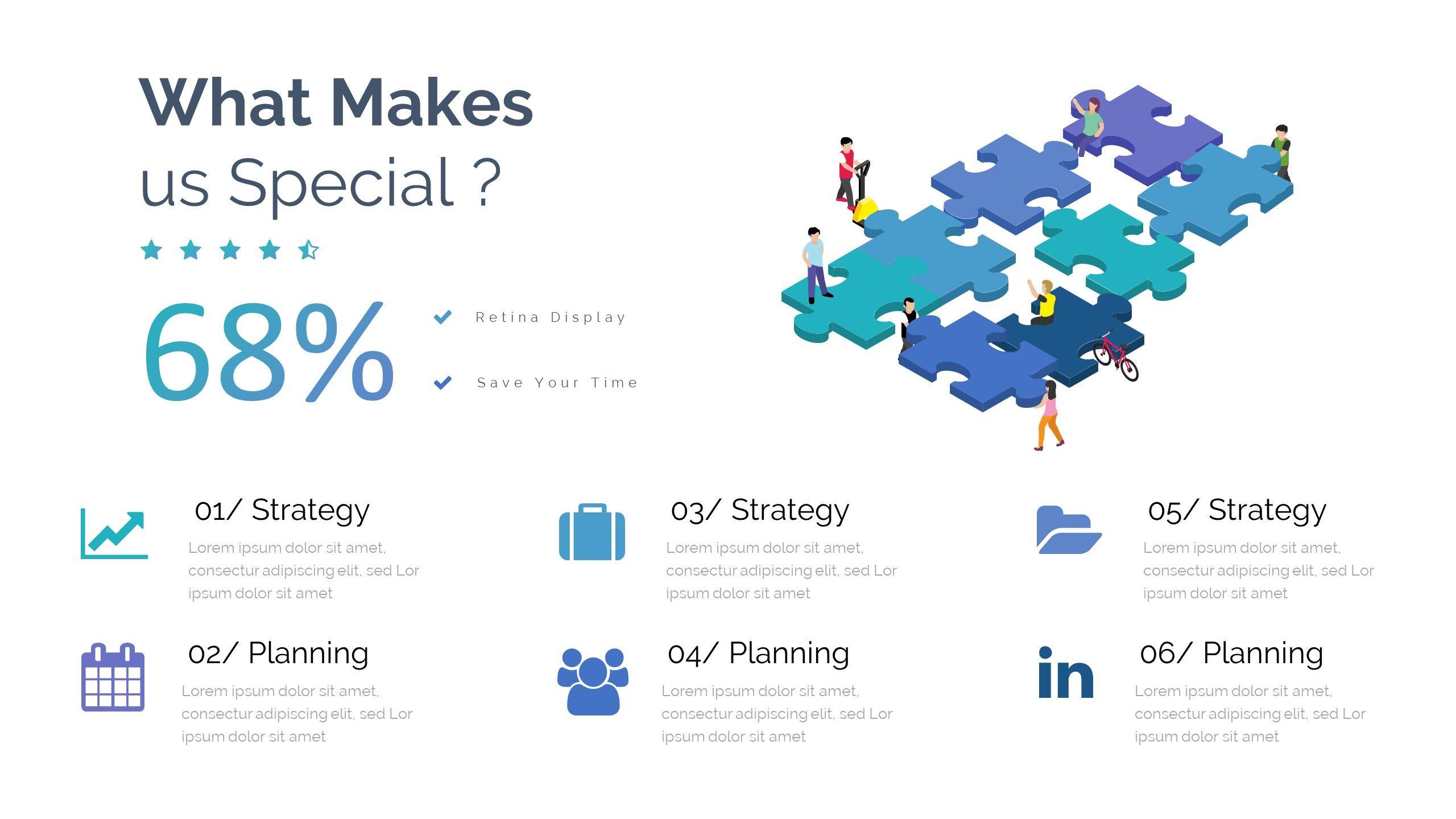 Case study pitch deck google slide template keynote