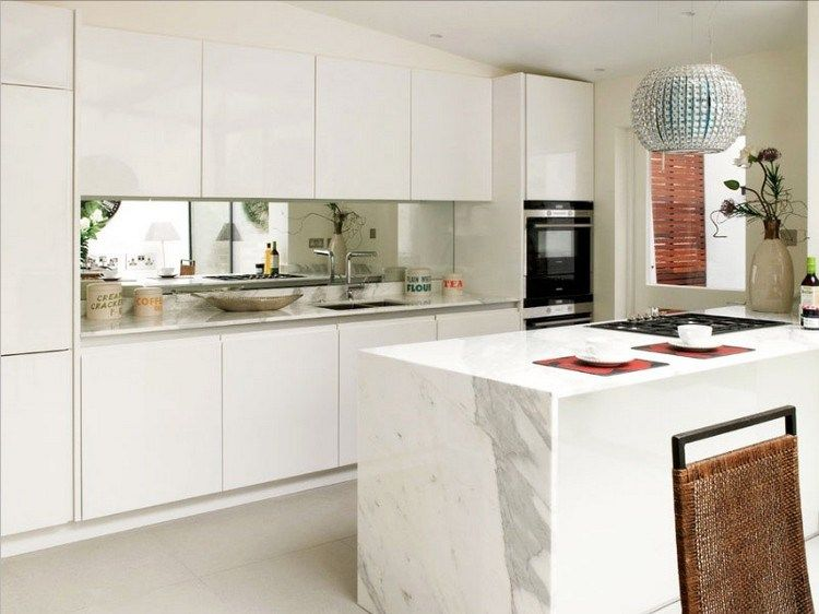 Cermin sebagai Backsplash pada Desain Dapur Kecil | Dekorasi dapur, Desain  dapur, Dapur kecil