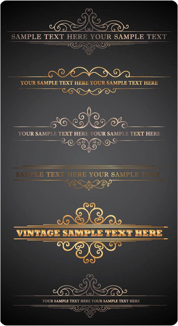 Ornate Letterhead Vector u2013 Free Download Free Downloads - letterheads templates free download