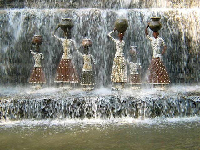 Chandigarh Nek Chand S Rock Garden Funky Art Art Virtual Art