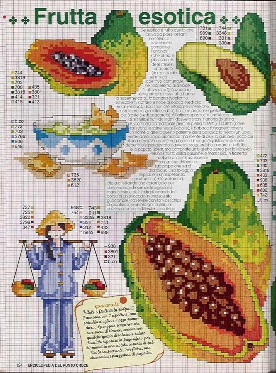 Gallery.ru / Фото #80 - EnciclopEdia Italiana Frutas e verduras - natalytretyak