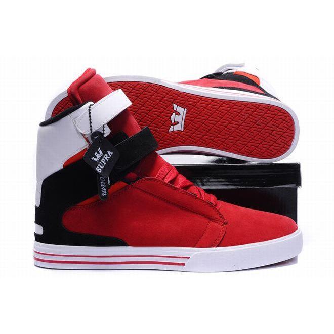 SUPRA TK Shoes 2014 New Fashion Style Black/White/Redsupra websitesupra black Best Selling Clearance