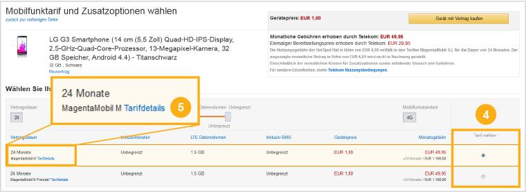 Amazon.de: Ratgeber Handyverträge: Elektronik & Foto