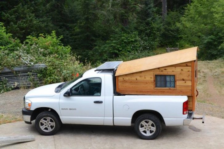 Carpenter Builds Wooden Truck Bed Campers For Tacoma And Ram