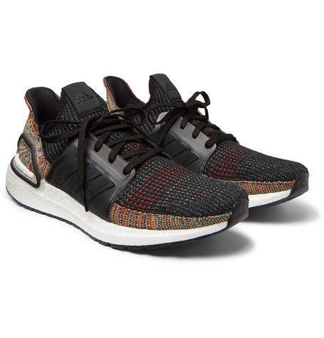 b20a9224efa ADIDAS ORIGINALS ULTRABOOST 19 RUBBER-TRIMMED PRIMEKNIT SNEAKERS - BLACK.   adidasoriginals  shoes
