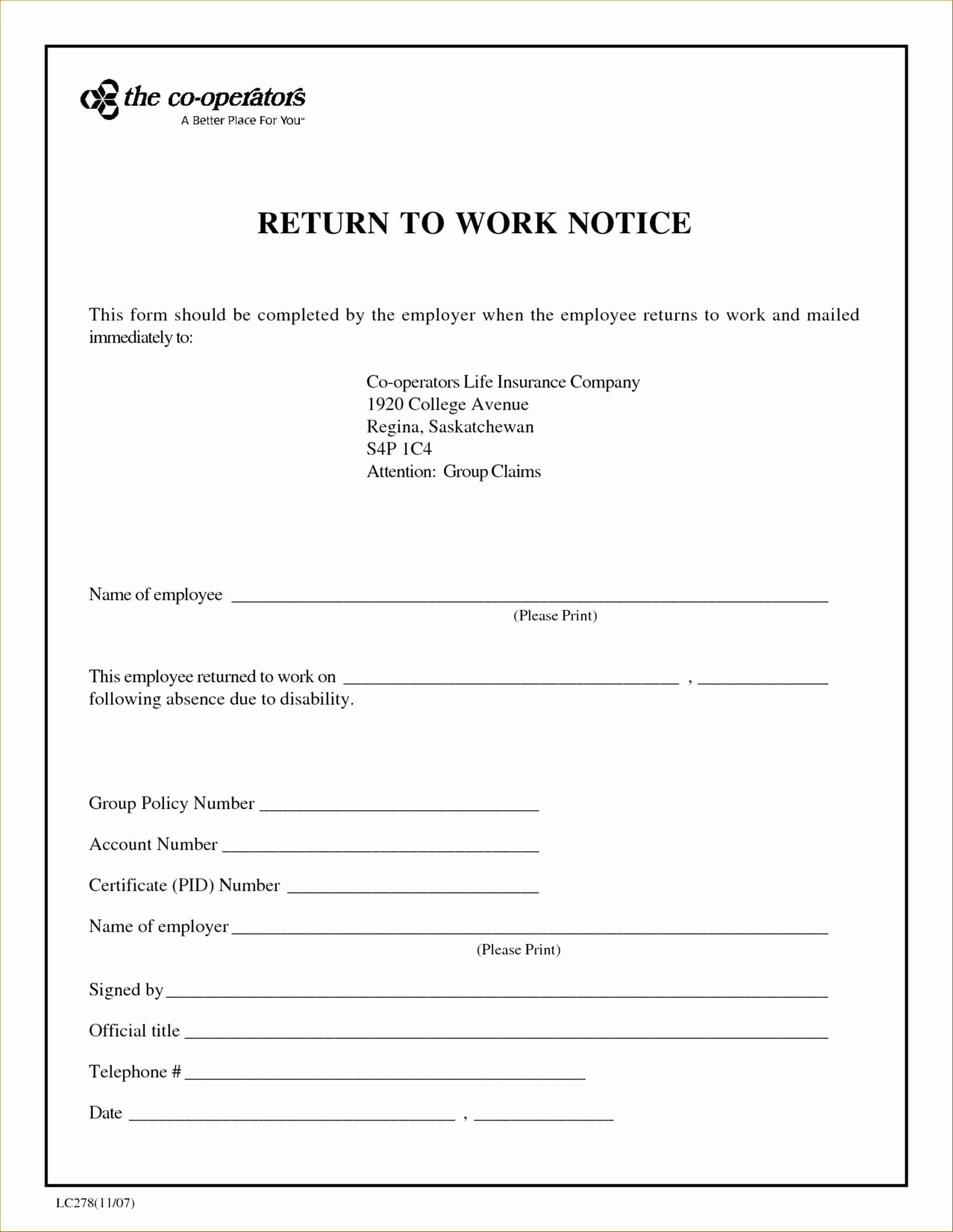 Sick Note Template For Work In 2020 Doctors Note Template