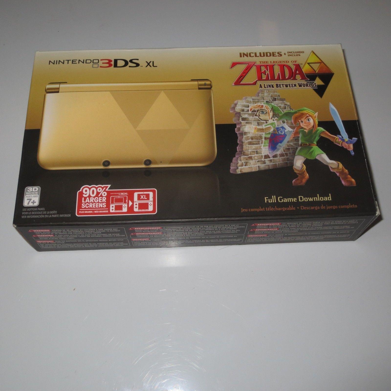 Nintendo 3ds Xl Legend Of Zelda A Link Between Worlds Nintendo