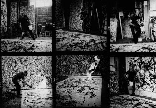 Jackson Pollock. Action Painting. | Bloque X. Los años 60 y 70 ...