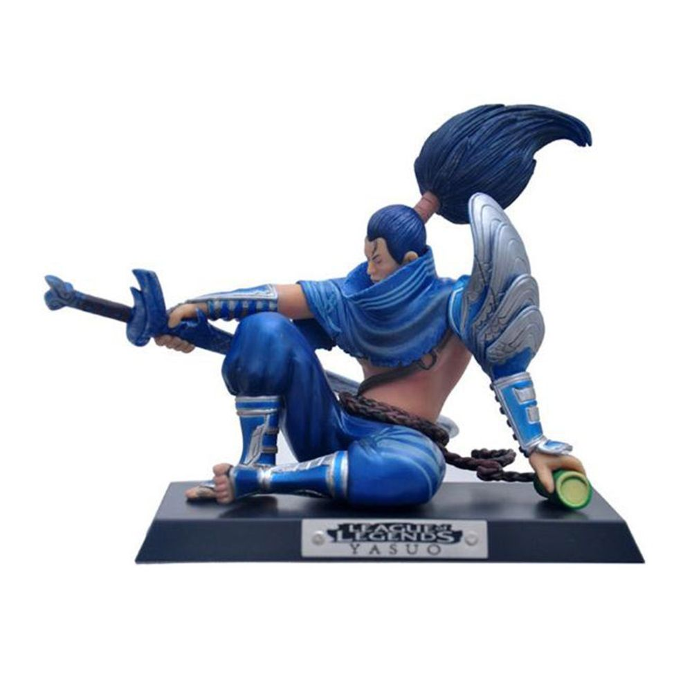 LOL League of Legends The Unforgiven Yasuo Action Figure Toys 13cm ^