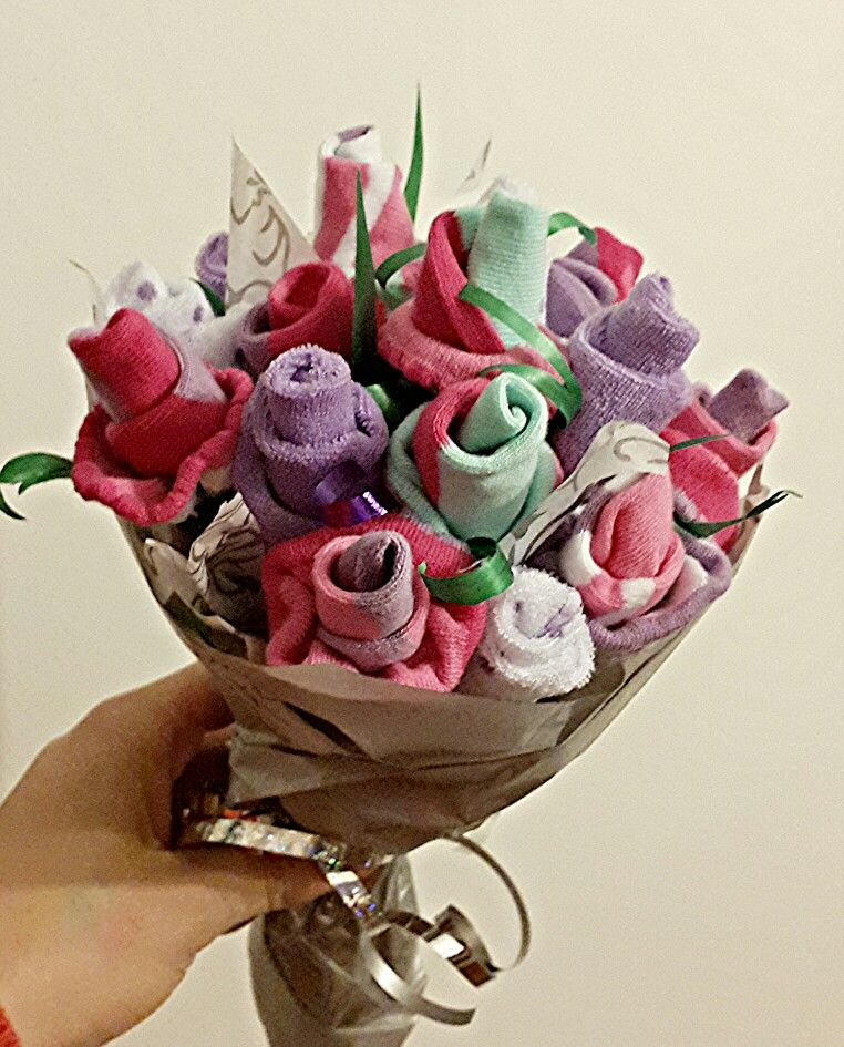 Baby sock bouquet socks pinterest baby sock bouquet baby baby sock bouquet negle Choice Image