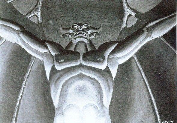 """Demônio da mitologia eslava, Tchernobog também foi retratado no clássico da animação """"Fantasia"""", durante a sequência """"A Noite no Monte Calvo"""""""