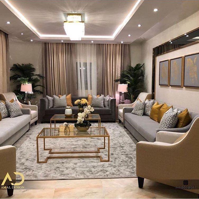 أم هند بناء ديكور تنسيق On Instagram تنسيق مجلس نساء ديكور ديكورات مجالس نساء مجلس Luxury Living Room Living Room Design Decor Small Living Room Decor