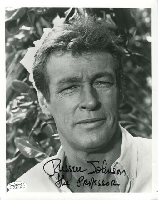 Russell Johnson The Professor from Gilligans Island has ...