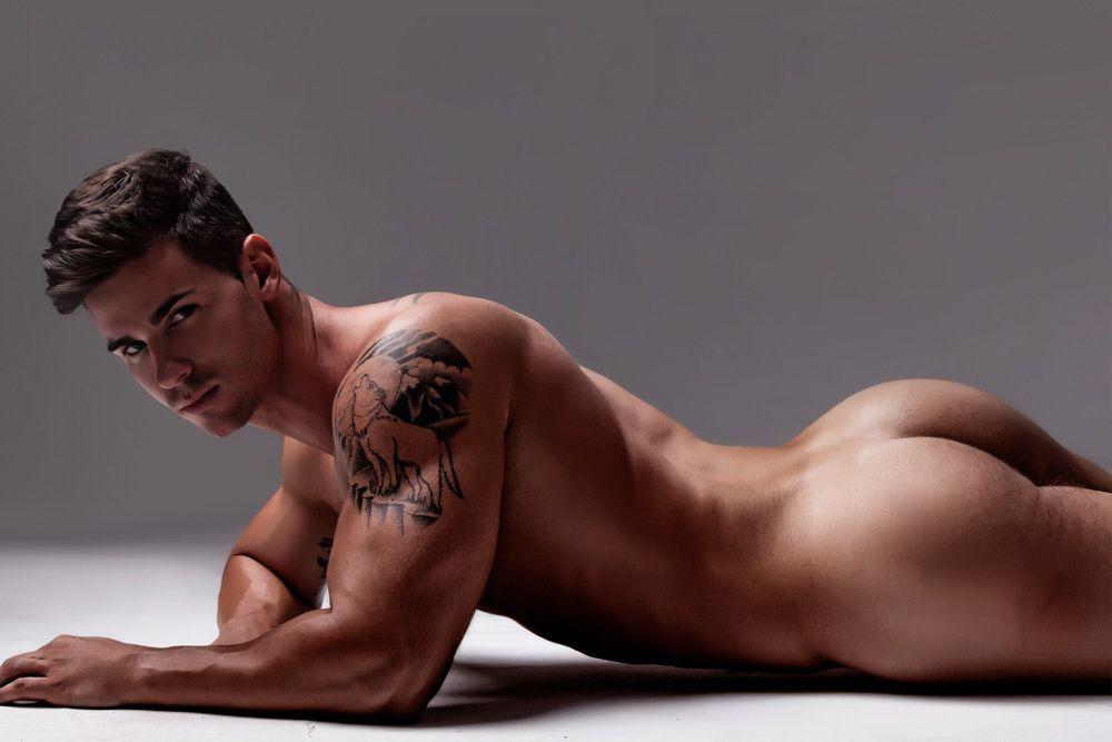 Gay boy butt model
