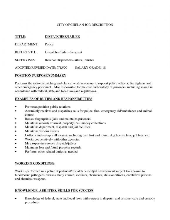 911 Dispatcher - Resume Samples
