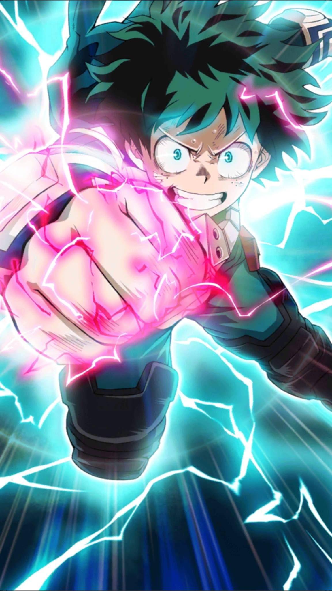 Deku / Midoriya Izuku Fondo de pantalla de anime, Fondo